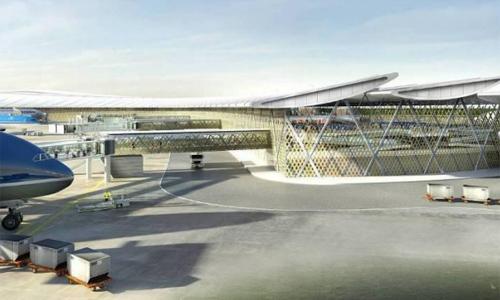 Mô hình dự án sân bay Long Thành