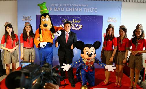 Vietjet Air đưa chuột Mickey từ Disney tới Việt Nam
