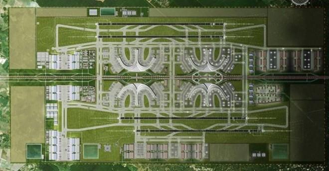 Quy hoạch sân bay Long Thành do ADPi thực hiện và giới thiệu trên website của mình