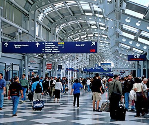 O'Hare airport Chicago Illinois