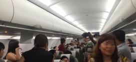 Vụ đánh nhau đã gây mất trật tự trên chuyến bay lúc chuẩn bị khởi hành - Ảnh: Long Nga