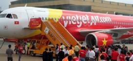 Máy bay Vietjet Air hạ cánh khẩn cấp sau 15 phút bay.