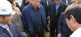 Bộ trưởng Đinh La Thăng kiểm tra các công trình giao thông.