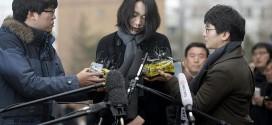 Cô Cho cúi đầu xin lỗi người dân Hàn Quốc trước khi đến Bộ Giao thông Vận tải giải trình về vụ việc