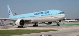 Một máy bay của hãng Korean Air Lines
