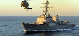 Tàu khu trục USS Sampson bắt đầu tìm kiếm QZ8501 từ hôm nay