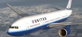 Một máy bay của hãng United Airlines.