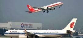 Hãng Air China, một trong những hãng hàng không được tác ra từ CAAC