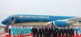 Chiếc A350XWB mới được Vietnam Airlines nhận về ngày 2-7