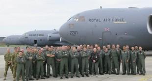 RAF vùa ngăn chặn thành công một âm mưu khủng bố bằng máy bay.