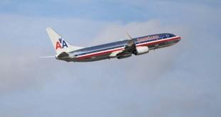 Máy bay của hãng hàng không American Airlines.