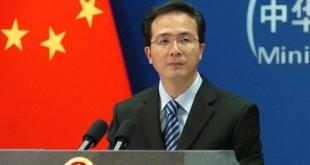 Người phát ngôn Bộ Ngoại giao Trung Quốc Hồng Lỗi.
