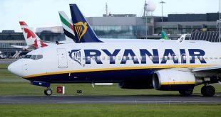 Hãng hàng không Ryanair đã quyết định dừng hoạt động 34 đường bay quốc tế.