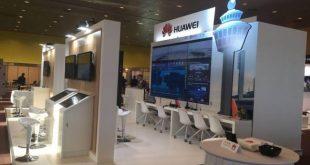 Khu vực trưng bày triển lãm của Huawei tại WPS 2017.