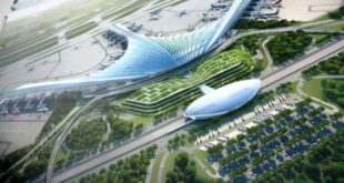 Phương án thiết kế nhà ga Cảng Hàng không Quốc tế Long Thành cách điệu từ hình chiếc lá dừa đặc trưng của vùng miền Nam