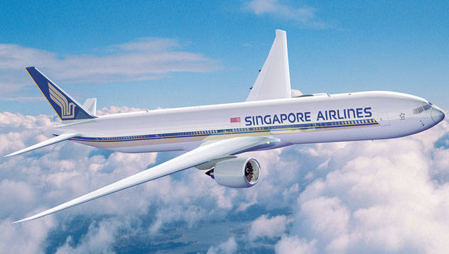 Chiếc Boeing 777-300ER của Singapore Airlines