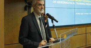 Giáo sư Patrick Boiron - Hiệu trưởng Đại học Việt - Pháp giới thiệu về ngành đào tạo mới.