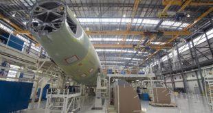 Bước lắp ráp cuối cùng của chiếc Airbus A321neo