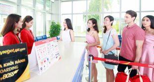 Vietjet công bố mở bán 1 triệu vé siêu khuyến mãi giá chỉ từ 0 đồng (chưa bao gồm thuế phí)
