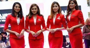 Các nữ tiếp viên Air Asia