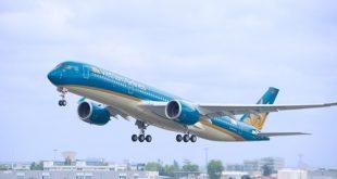 Đường bay Việt Nam - Pháp đang được Vietnam Airlines khai thác bằng máy bay Airbus A350.