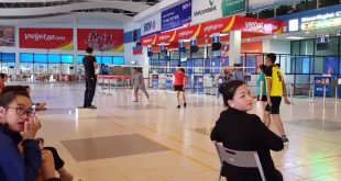 Sân bay Đồng Hới trở thành sân chơi thể thao