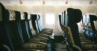 Hành khách khó có thể tìm được một chiếc máy bay thông thường nào có hàng ghế đặc biệt như vậy: quay về phía đuôi máy bay.