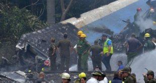 Hiện trường vụ rơi máy bay của hãng Damojh gần La Habana.