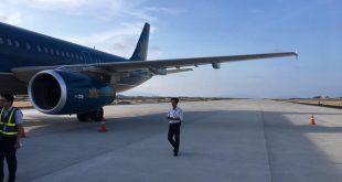 Chuyến bay VN7344 hạ cánh nhầm xuống đường băng 02 chưa khai thác tại sân bay Cam Ranh chiều 29/4