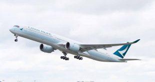 A350-1000 là máy bay thân rộng mới nhất của Airbus có thân máy bay dài hơn và không gian rộng hơn 40% so với máy bay A350-900, A350-1000 có bộ phận lái ở đuôi máy bay kéo dài, càng máy bay gồm 6 bánh và động cơ Rolls-Royce Trent XWB-97 mạnh mẽ hơn.