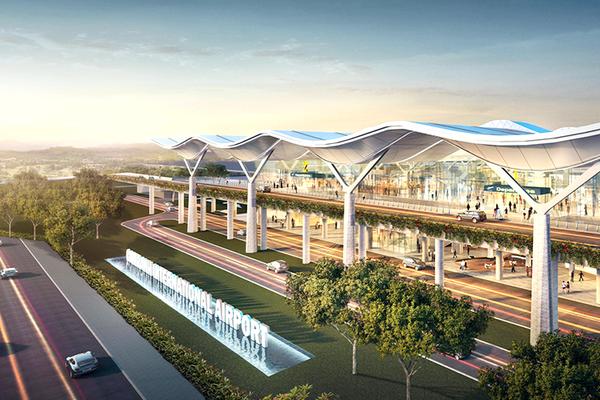 Sau một năm rưỡi thi công, sáng nay (29/6), Nhà ga hành khách quốc tế - Cảng hàng không quốc tế Cam Ranh đã chính thức mở cửa