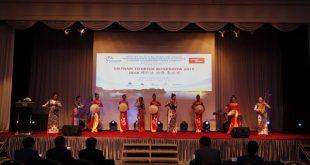 Các tiết mục văn nghệ bản sắc Việt được trình diễn tại Hàn Quốc