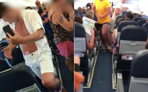 Hành khách phải đợi trong khoang bay chật chội suốt 3 tiếng mà không có điều hòa.