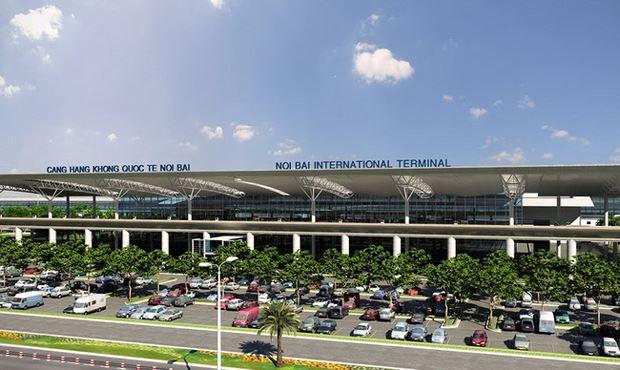 ACV cung cấp phần lớn dịch vụ mặt đất tại 22 cảng hàng không. Trong ảnh: Cảng hàng không Nội Bài do ACV khai thác
