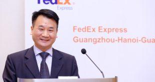 Ông Hardy T. Diec, Tổng Giám Đốc FedEx Express khu vực Đông Dương.