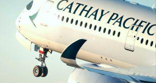 Hãng hàng không Cathay Pacific.