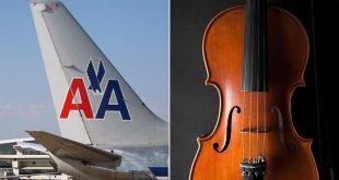 Nữ hành khách bị mời rời khỏi máy bay hãng American Airlines dù đã mua vé dành 1 chỗ riêng cho cây đàn trung hồ cầm của mình