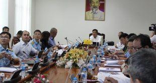 Chính quyền tỉnh làm việc với Công ty Hồ Tràm về phương án xây sân bay.
