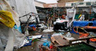Bão Mangkhut vừa quét qua Philippines với sức tàn phá khủng khiếp.