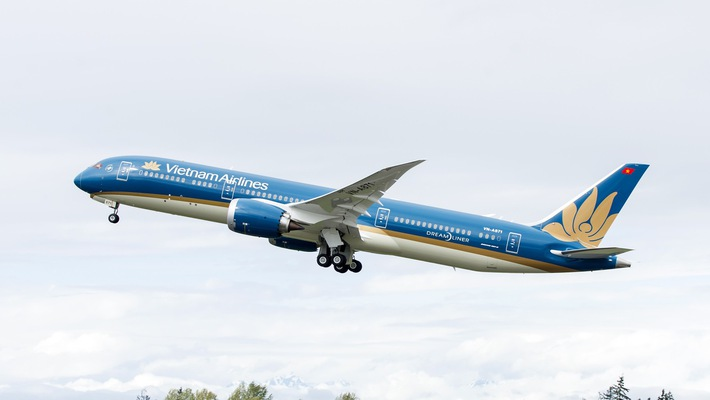 Hãng cũng dự kiến khai thác máy bay Boeing 787 thay cho Airbus A321 trên đường bay giữa Tp. Hồ Chí Minh và Nagoya từ ngày 21/9/2018.