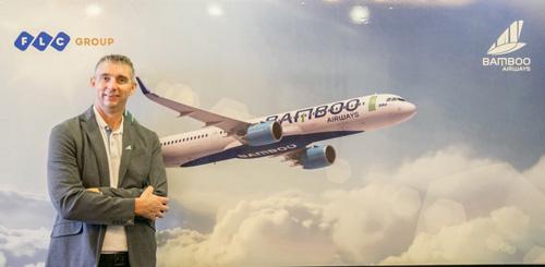 Adrian Hamilton - Manns tham vọng sẽ biến Bamboo Airways trở thành hãng có khoang hạng nhất đầu tiên tại Việt Nam.