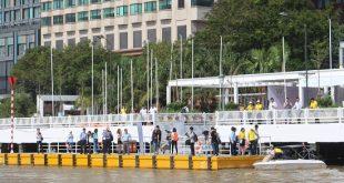Năm 2017, bến Bạch Đằng được cải tại một phần thành bến buýt sông của TP Hồ Chí Minh.