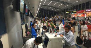 Dự kiến lượng khách thông qua hệ thống cảng hàng không trên cả nước năm 2018 dự kiến lần đầu vượt mốc 100 triệu khách, đạt 105 triệu khách