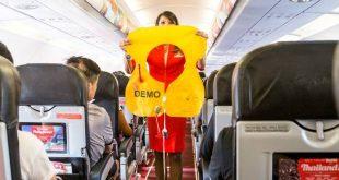 Áo phao là một trong số những vật dụng thường bị lấy cắp khỏi máy bay.