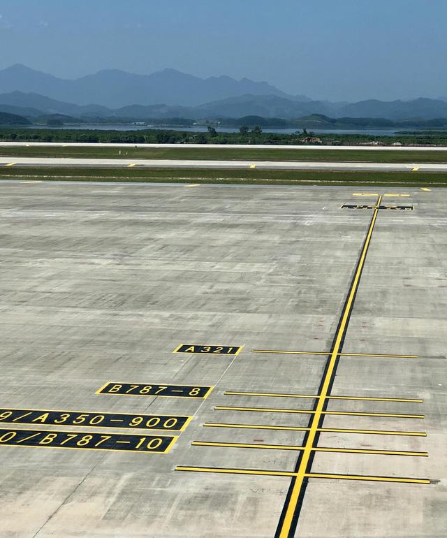 """Sân đỗ đáp ứng cho cả những """"siêu máy bay"""" như Boeing 787 và Airbus 350"""