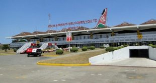 Cảng hàng không quốc tế Moi tại thủ đô Mombasa của Kenya