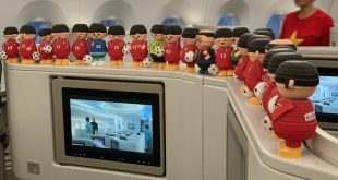 Búp bê handmade phiên bản thu nhỏ hình ảnh HLV Park Hang Seo, các cầu thủ và thành viên đội tuyển bóng đá Việt Nam