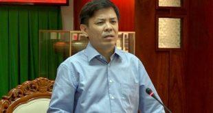 Bộ trưởng Nguyễn Văn Thể phát biểu trong buổi làm việc
